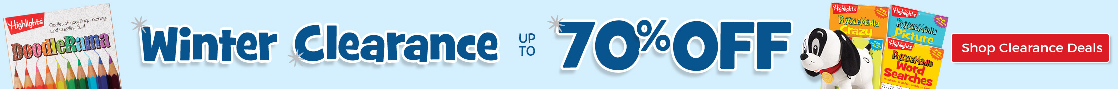 Save up to 70% on dozens of items during Winter Clearance sale – don't miss it!