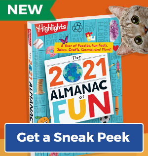 Explore our brand new 2021 Almanac of Fun – it's a special early release!