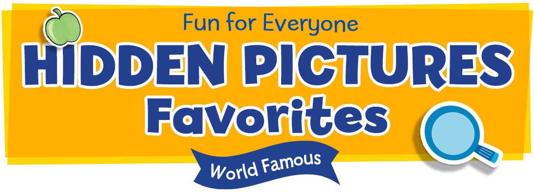 World famous Hidden Pictures Puzzles are fun for everyone
