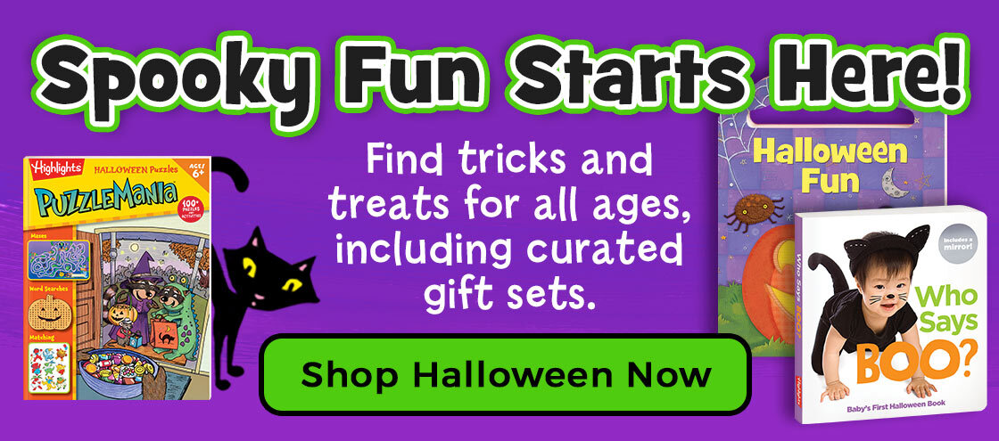 Halloween fun is here – find curated gift sets for all ages, plus lots more treats!