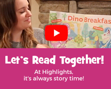 It's always story time on YouTube with our recorded readings – watch now!