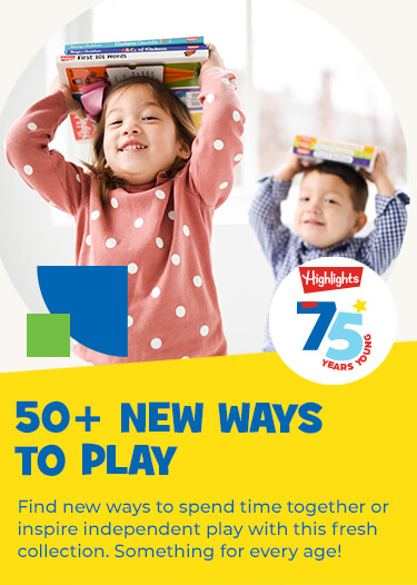Find over 50 new ways to spend time together or keep little brains busy with this fresh collection of new arrivals. Something for every age and stage!