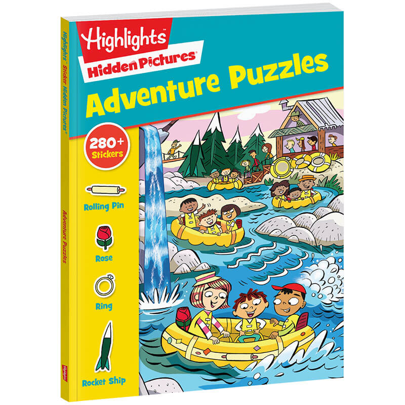 Hidden Pictures Adventure Puzzles