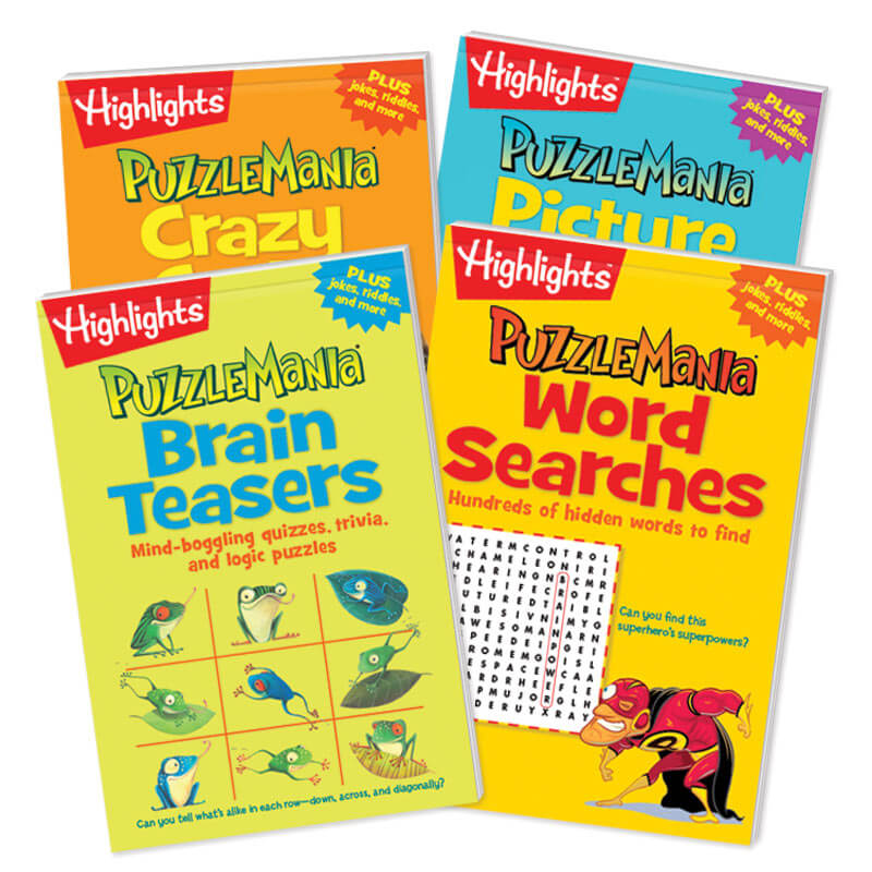Puzzlemania Puzzle Pads Set of 4