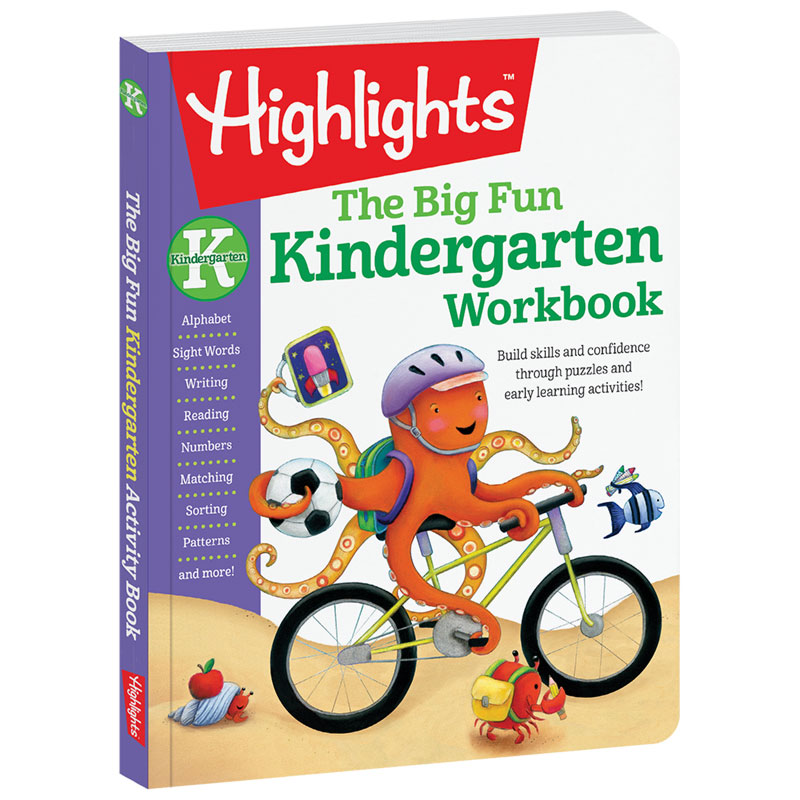 Big Fun Kindergarten Workbook