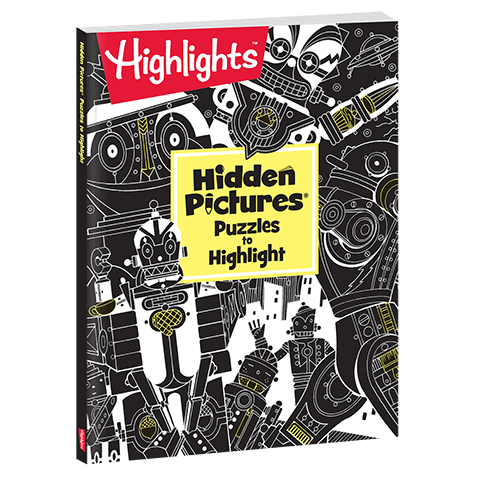 Hidden Pictures Puzzles to Highlight