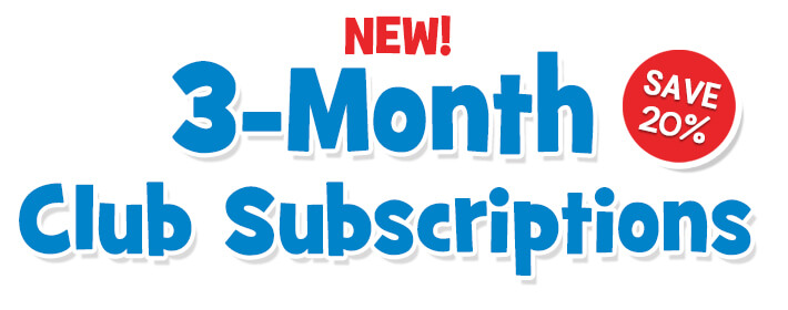 3-Month Club Subscriptions