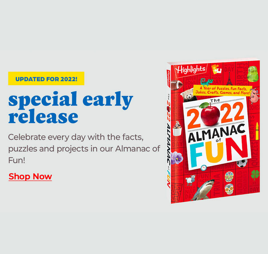 Explore our updated 2022 Almanac of Fun – it's a special early release!