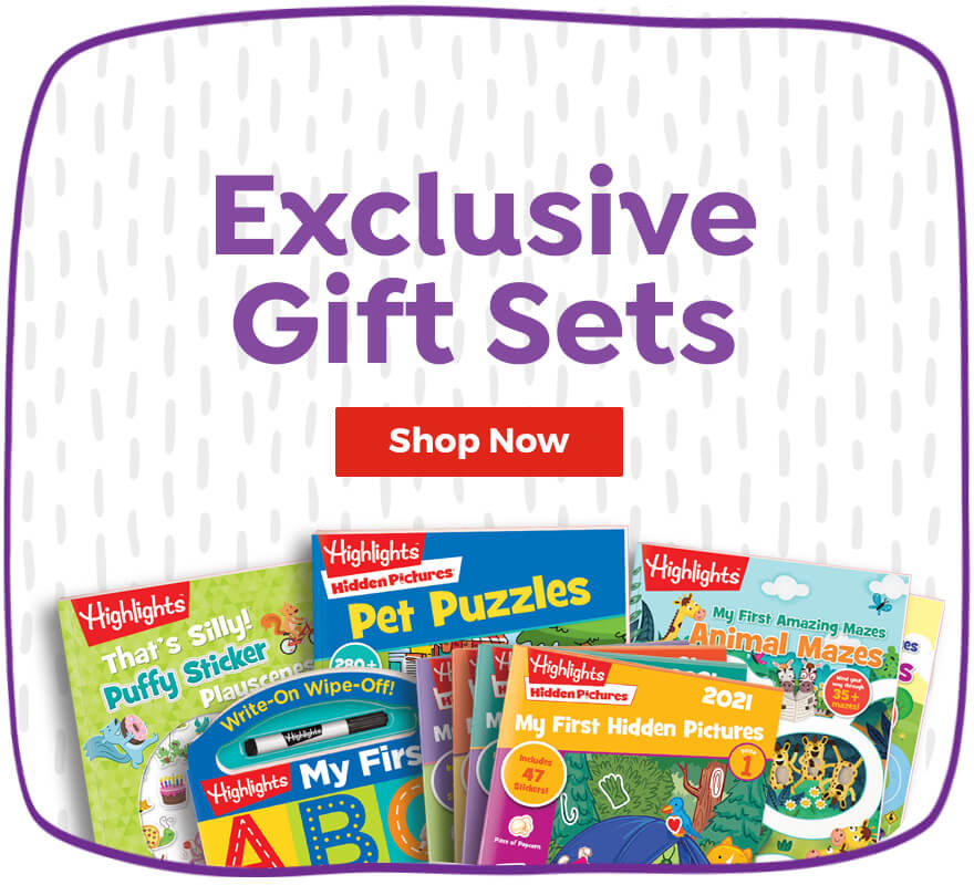 Shop our exclusive gift sets, curated for every age.