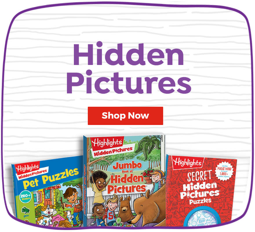 Shop our best-selling Hidden Pictures gifts, including books, activities and more.