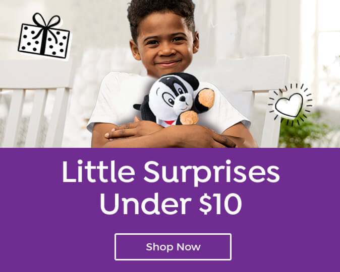 Find dozens of gifts under $10 for every age with this special collection!