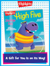 High Five Foldable Anytime Gift Announcement