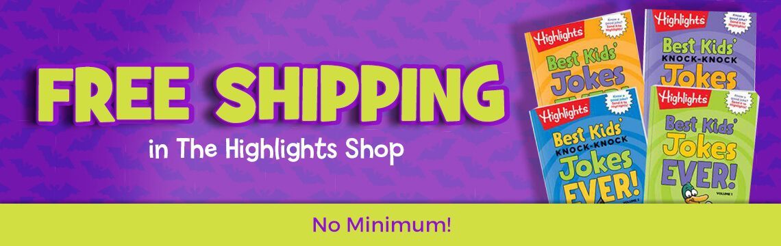 Get Free Shipping in the Highlights Shop, no minimum
