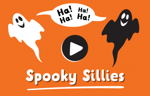 laugh at spooky sillies