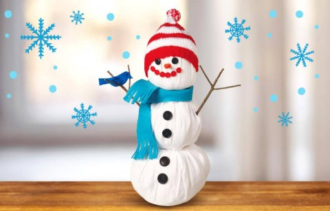 build a snowless snowman