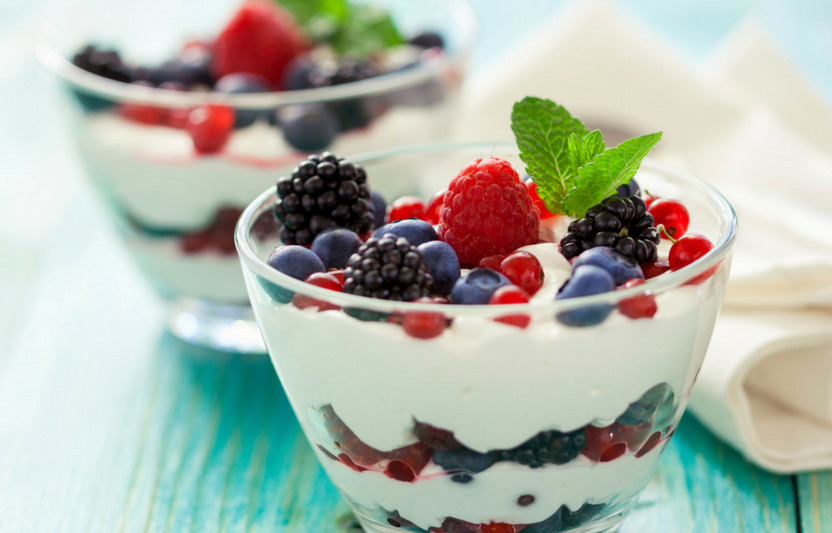 Perfect Fruity Parfait