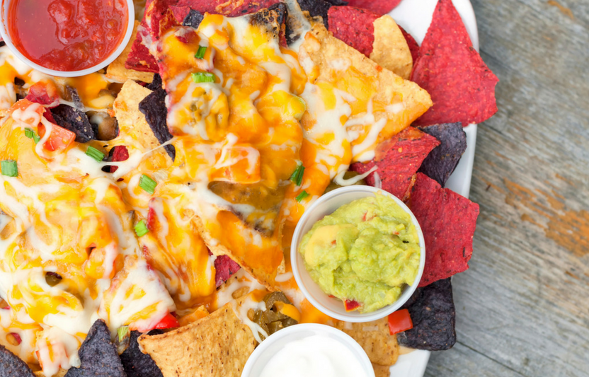 Three-Ingredient Nachos