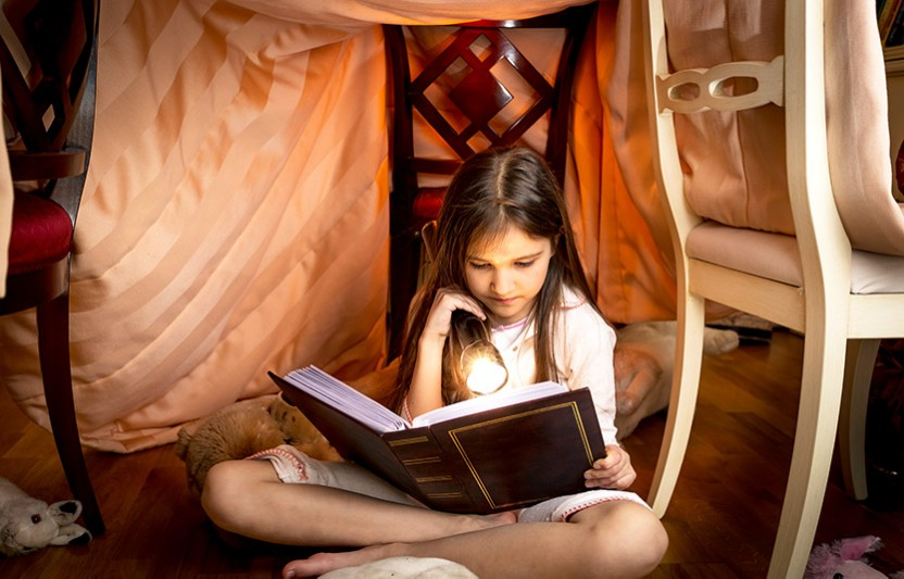 How to build a blanket fort