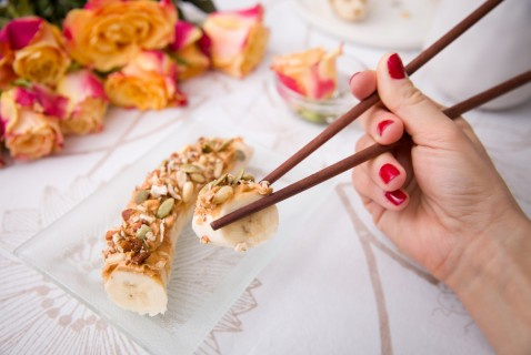 Any-Time, Any-Day Banana Sushi