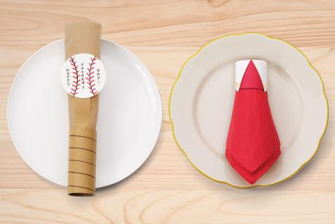 Father's Day Napkin Rings