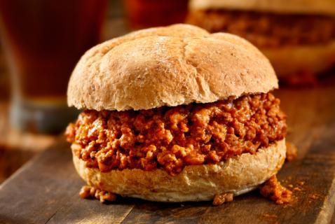 Sweet-and-Savory Sloppy Joe Sliders