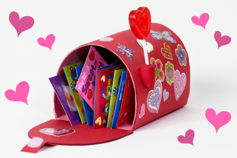 Valentine Mailbox in 7 Easy Steps