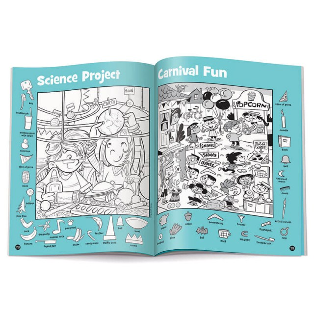 Science Project and Carnival Fun puzzles