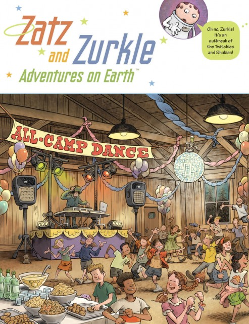 "Eagle-Eye Hidden Pictures: ""Zatz and Zurkle"" featured puzzle page 1"