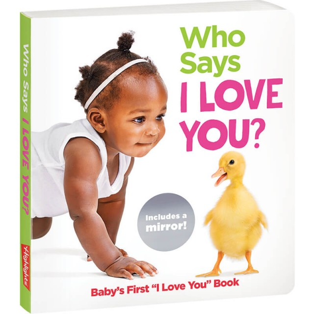 Who Says I Love You? board book