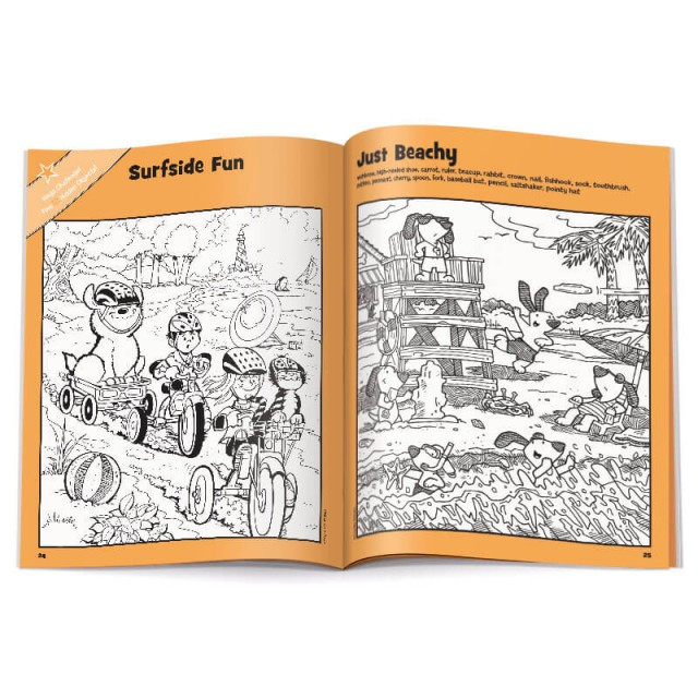 Surfside Fun puzzle and Just Beachy puzzle