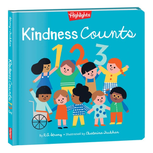 Kindness Counts 123 Hardcover Book