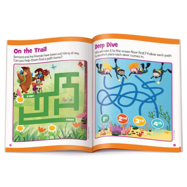 On the Trail and Deep Dive mazes
