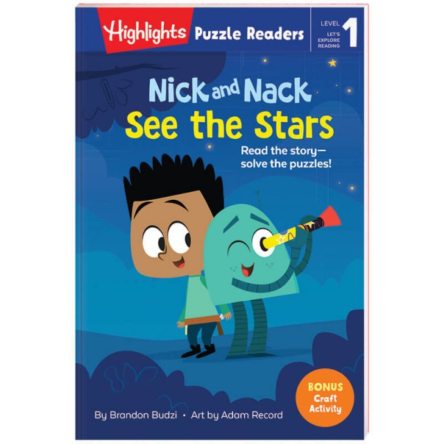 Highlights Puzzle Readers: Nick and Nack See the Stars book