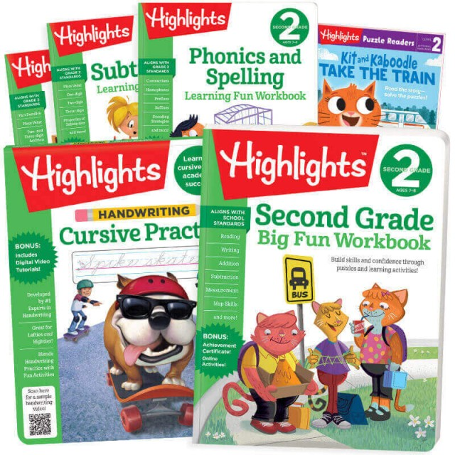 Back-to-School Success Pack, Second Grade with 6 books