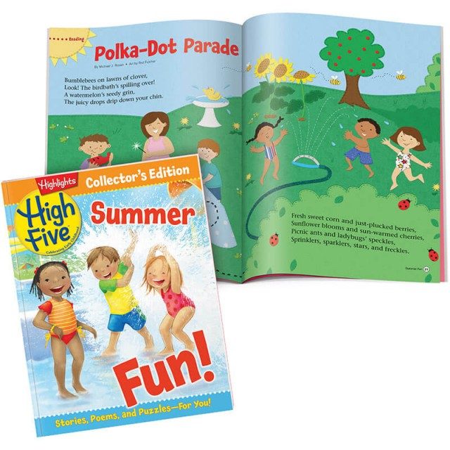 High Five Collector's Edition for Summer and a picnic scene