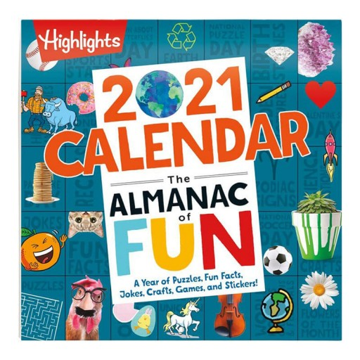 Highlights 2021 Almanac of Fun Calendar