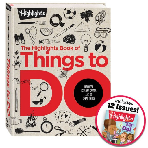 The Highlights Book of Things to Do with Highlights magazine subscription