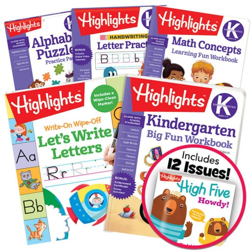 Deluxe School Success Pack Kindergarten