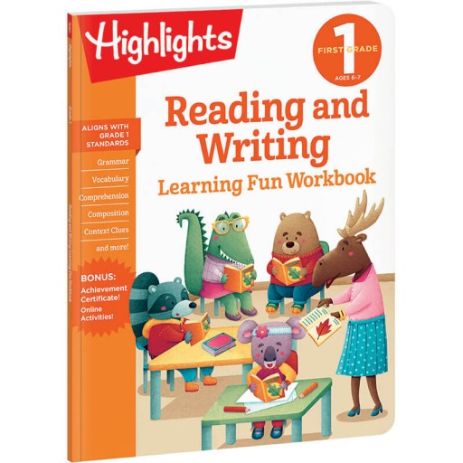 First Grade Learning Fun Workbook: Reading and Writing