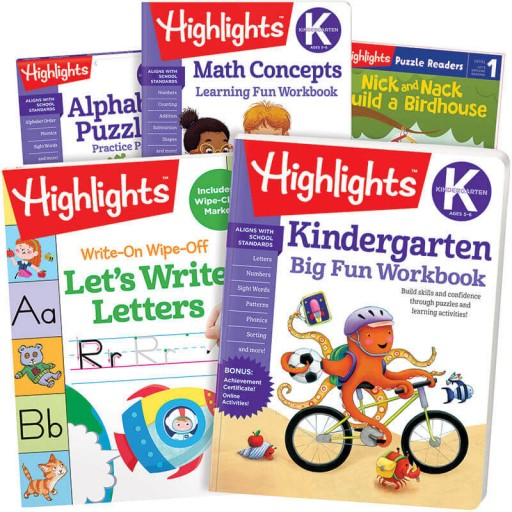 School Success Pack, Kindergarten, with 5 books