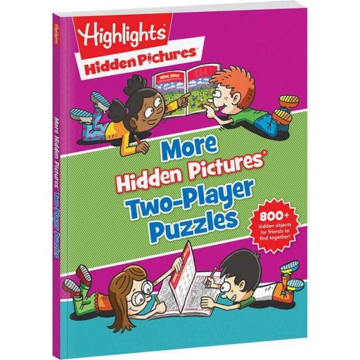 More Hidden Pictures Two-Player Puzzles paperback book