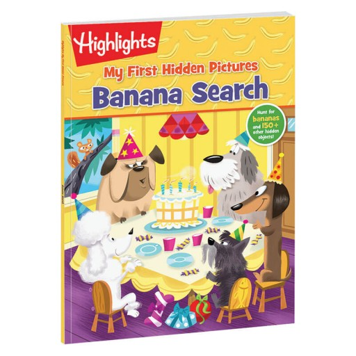 My First Hidden Pictures: Banana Search book