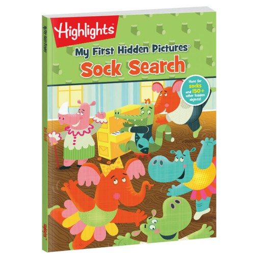 My First Hidden Pictures: Sock Search book
