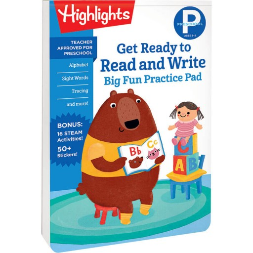 Preschool Big Fun Practice Pad: Get Ready to Read and Write book