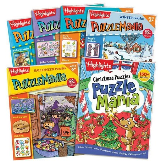Puzzlemania All-Season Collection set of 6 books