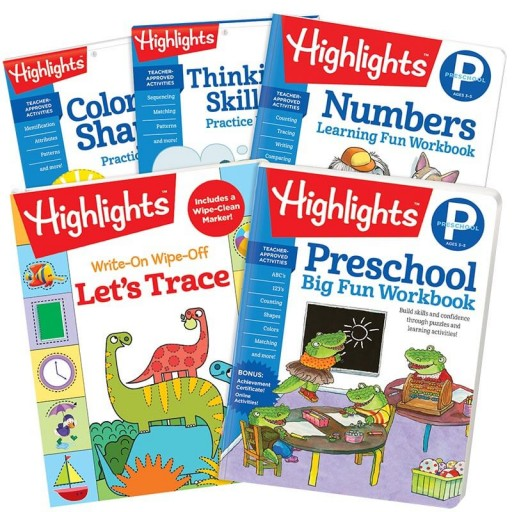 Preschool Success Pack with 5 books