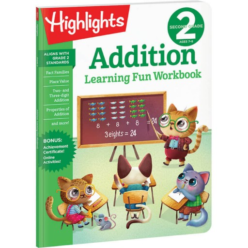 Second Grade Learning Fun Workbook: Addition