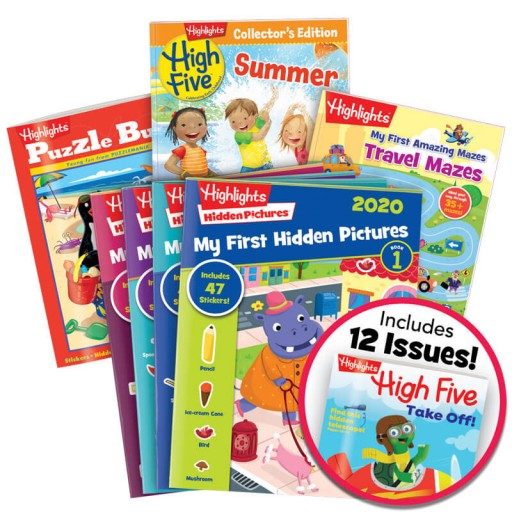 Summer Fun Pack Ages 3-6 includes 7 books
