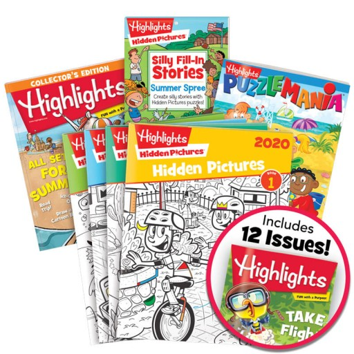Summer Fun Pack Ages 6-12 includes 7 books