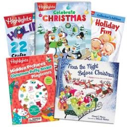 Christmas Gift Set with 5 books
